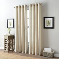 Bailey 84-Inch Grommet Top Window Curtain Panel in Natural