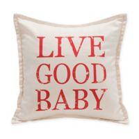 "Live Good™ ""Live Good Baby"" Organic Supima® Cotton Baby Pillow"