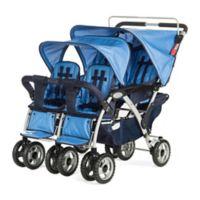 Foundations® 4-Passenger Stroller in Blue