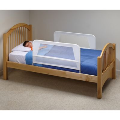 Babyproofing KidCoR Mesh Bed Rails In White Set Of