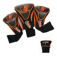 Baltimore Orioles 3-Pack Contour Golf Club Headcovers