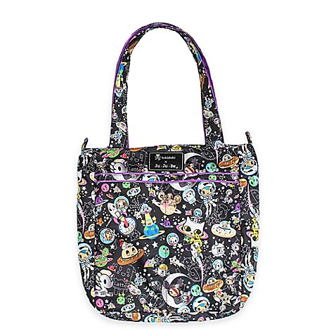 totes tokidoki x ju ju be be light diaper bag in space place print from buy buy baby. Black Bedroom Furniture Sets. Home Design Ideas