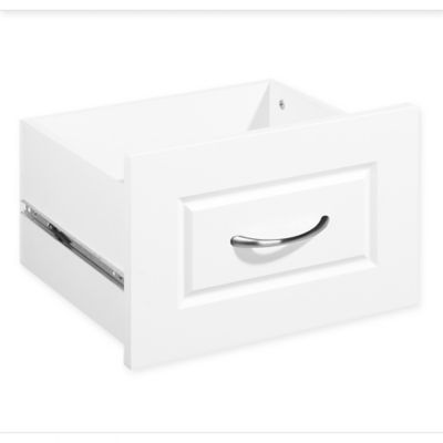 ClosetMaid® SuiteSymphony™ 16 Inch X 10 Inch Drawer In Pure White