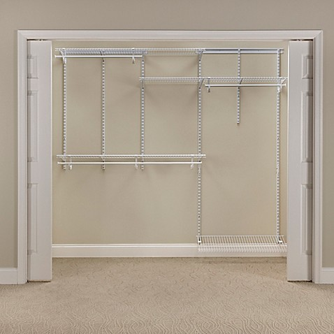 Closetmaid 174 Shelftrack 174 5 Foot To 8 Foot Wire Closet