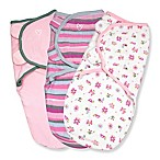 SwaddleMe® Original Swaddle Small/Medium 3-Pack Girly Bug in Pink