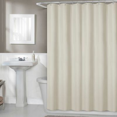 Titan 70 Inch X 71 Fabric Shower Curtain Liner In Linen