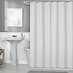 Titan 70-Inch x 72-Inch Fabric Shower Curtain Liner in White
