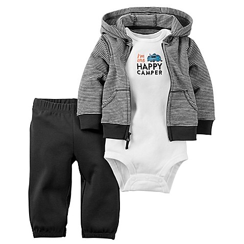 Carter's Bodysuit and Pant Set in Grey