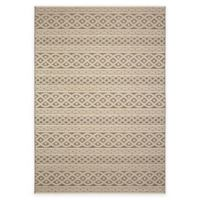 Orian Jersey Home Collection 5-Foot 1-Inch x 7-Foot 6-Inch Organic Cable Area Rug in Sand