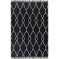 Surya Hines Peak 9-Foot x 13-Foot Recycled PET Indoor/Outdoor Area Rug in Charcoal