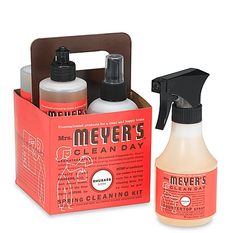 Mrs Meyer S 174 Rhubarb Spring Cleaning Kit Bed Bath Amp Beyond