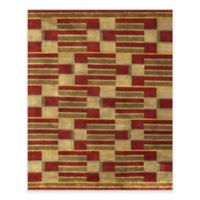 Feizy Keystone Boxed 5-Foot 6-Inch x 8-Foot 6-Inch Area Rug in Gold