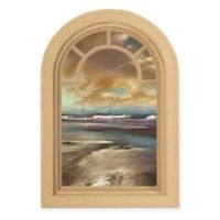 Contour Art Elements Coastal Blue Sunset 16-Inch x 24-Inch Wall Decal