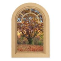 Contour Art Elements Autumn Tree 16-Inch x 24-Inch Wall Decal