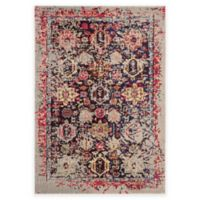 Safavieh Monaco Leo 4-Foot x 5-Foot 7-Inch Area Rug in Grey Multi