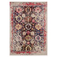 Safavieh Monaco Leo 6-Foot 7-Inch x 9-Foot 2-Inch Area Rug in Grey Multi