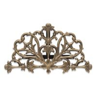 Whitehall Products Filigree Outdoor Hose Holder in French Bronze