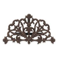 Whitehall Products Filigree Outdoor Hose Holder in Oil Rubbed Bronze