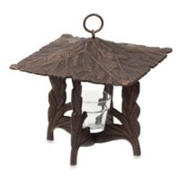 Whitehall Products Pinecone Twilight Lantern in French Bronze