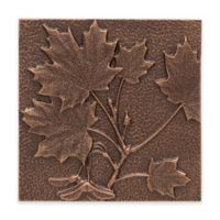 Whitehall Products Maple Leaf Outdoor Metal Wall Décor