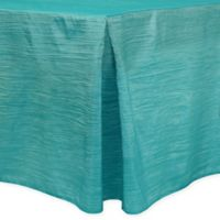 Delano 6-Foot Fitted Tablecloth in Turquoise