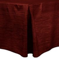 Delano 6-Foot Fitted Tablecloth in Burgundy