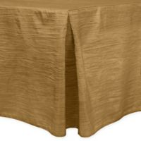 Delano 6-Foot Fitted Tablecloth in Harvest Gold