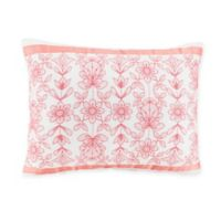 Jessica Simpson Ellie Oblong Throw Pillow in Coral
