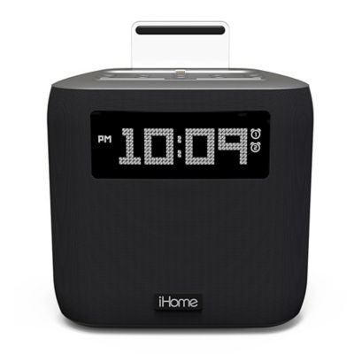 buy ihome ipod docking clock radio from bed bath beyond. Black Bedroom Furniture Sets. Home Design Ideas
