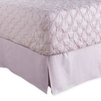 Surya Evelyn King Bed Skirt in Purple