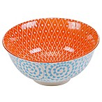 Certified International Chelsea Mix and Match Aqua Swirl 6.25-Inch Bowl