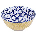 Certified International Chelsea Mix and Match Blue Chain 6.25-Inch Bowl