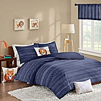 INK+IVY Kids Oliver Full/Queen Duvet Cover Set in Navy