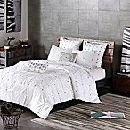 INK+IVY Masie King/California King Duvet Cover Set in White