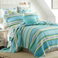 Levtex Home Cozumel Reversible Twin Quilt Set