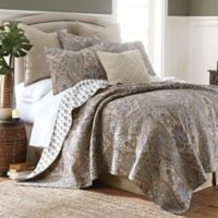 Levtex Home Kasey Reversible Twin Quilt Set in Grey
