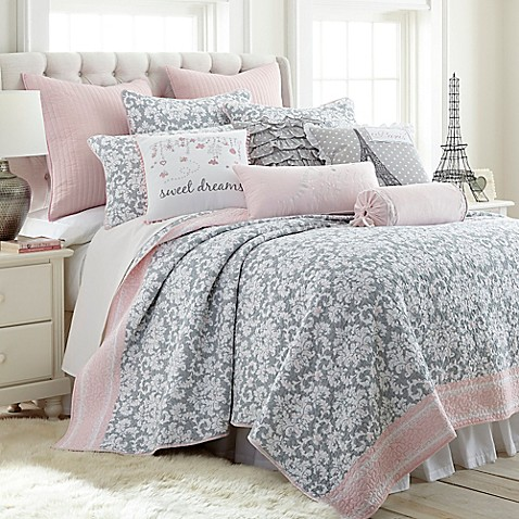 Levtex Home Margaux Reversible Quilt Set Bed Bath Amp Beyond