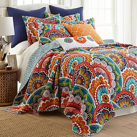 Levtex Home Serendipity Reversible Quilt Set Bed Bath
