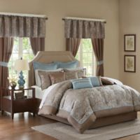 Madison Park Essentials Brystol 24-Piece King Complete Comforter Set