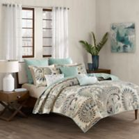 INK+IVY Mira King/California King Coverlet Set in Blue