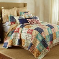 Levtex Home Jasmin Reversible Quilt Set in Blue