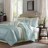 Madison Park Carter 7-Piece Queen Comforter Set in Green