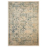 Safavieh Evoke Quill 5-Foot 1-Inch x 7-Foot 6-Inch Area Rug in Beige/Turquoise