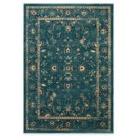 Safavieh Evoke Quill 5-Foot 1-Inch x 7-Foot 6-Inch Area Rug in Turquoise/Beige