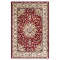 Safavieh 5-Foot 1-Inch x 7-Foot 7-Inch Persian Garden Roshan Rug in Red/Ivory