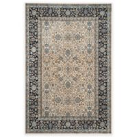 Safavieh Persian Garden Zibia 4-Foot x 5-Foot 7-Inch Area Rug in Ivory/Navy