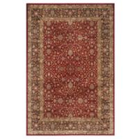 Safavieh Persian Garden Zibia 6-Foot 7-Inch x 9-Foot 2-Inch Area Rug in Red/Brown
