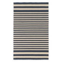 Surya Nadelhorn 9-Foot x 12-Foot Indoor/Outdoor Area Rug in Navy/Cream