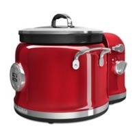 KitchenAid® Multi-Cooker with Stir Tower Accessory in Candy Apple Red