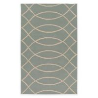 Surya Alexia 2-Foot x 3-Foot Indoor/Outdoor Area Rug in Light Grey